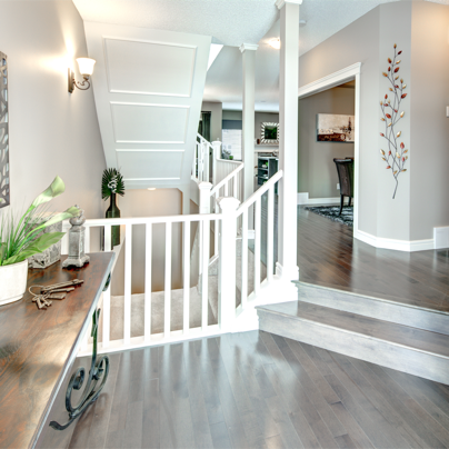 Victor show home Foyer