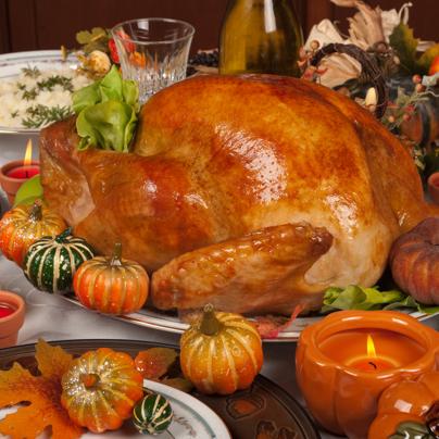 thanksgiving dinner new home