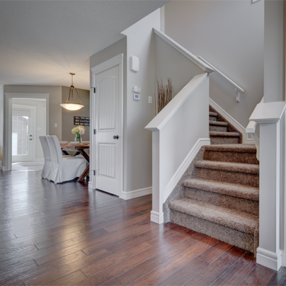 bosley show home front entryway