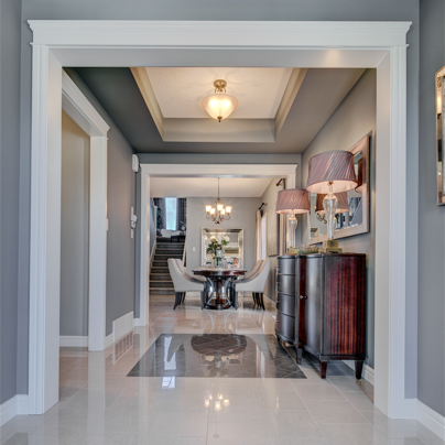 Remington show home Foyer