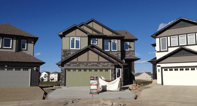Edmonton home builder - case study exterior