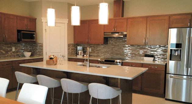 Streetscape showhomes - Oscar kitchen