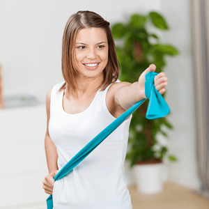 Resistance bands in your home gym