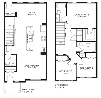 Model feature: calder floor plan image