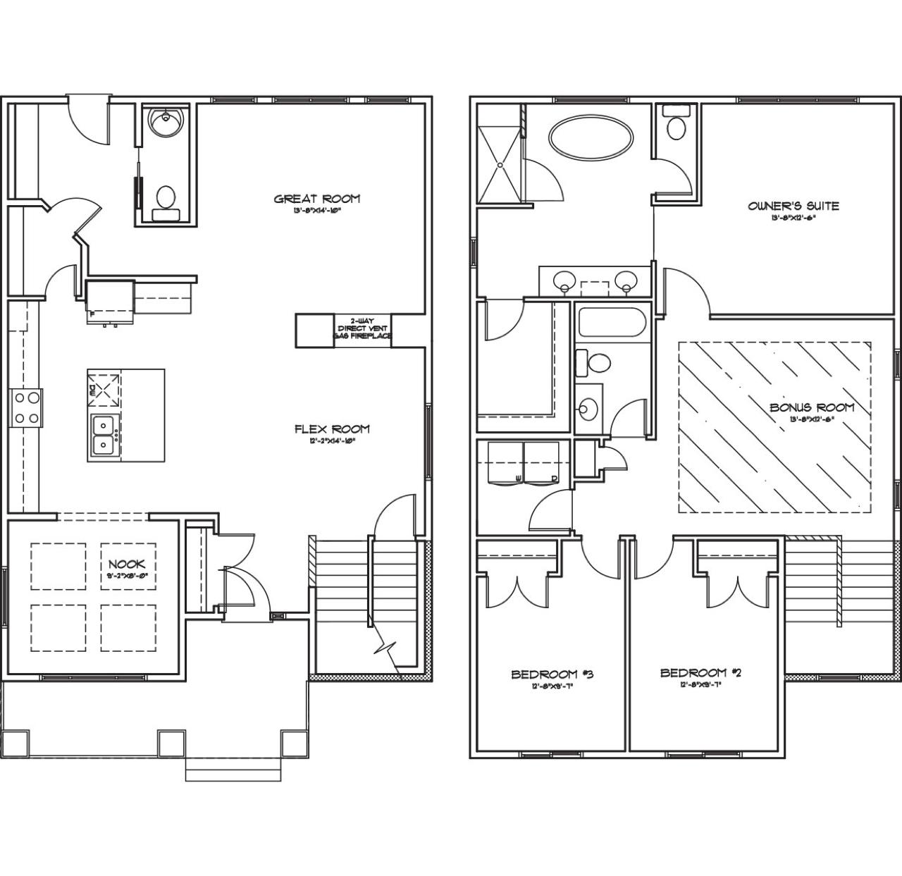 Model Feature: Aralytt & Declan Aralytt Floorplan image
