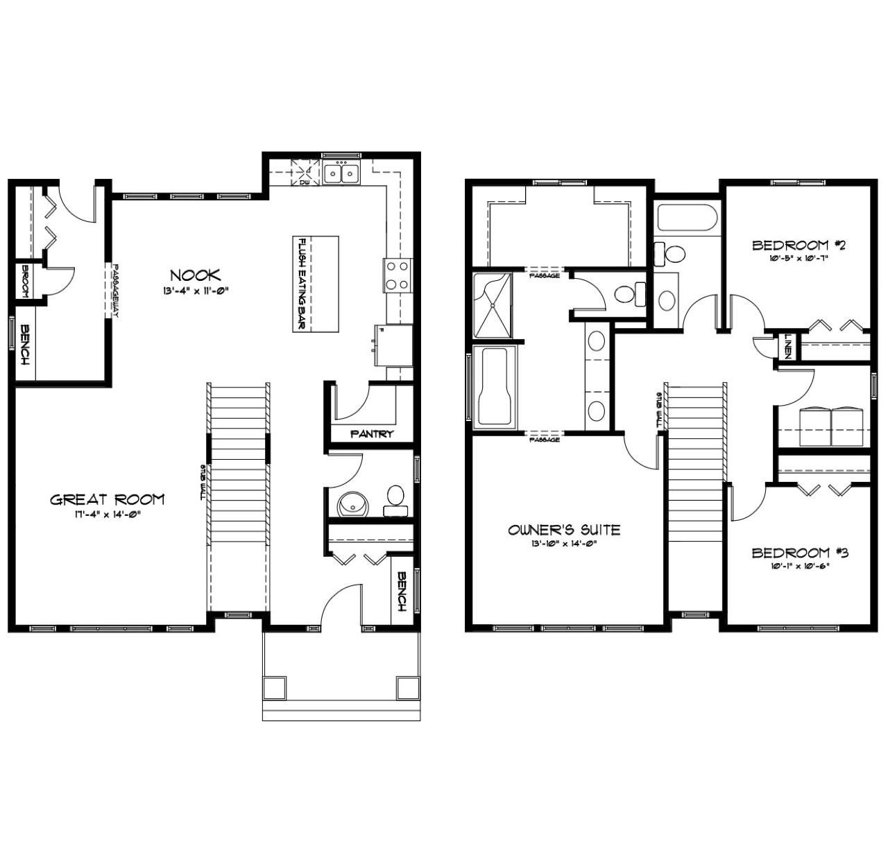 Model Feature: Aralytt & Declan floorplan image