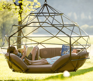 10 Design Ideas to Transform Your Backyard Hanging Chair image