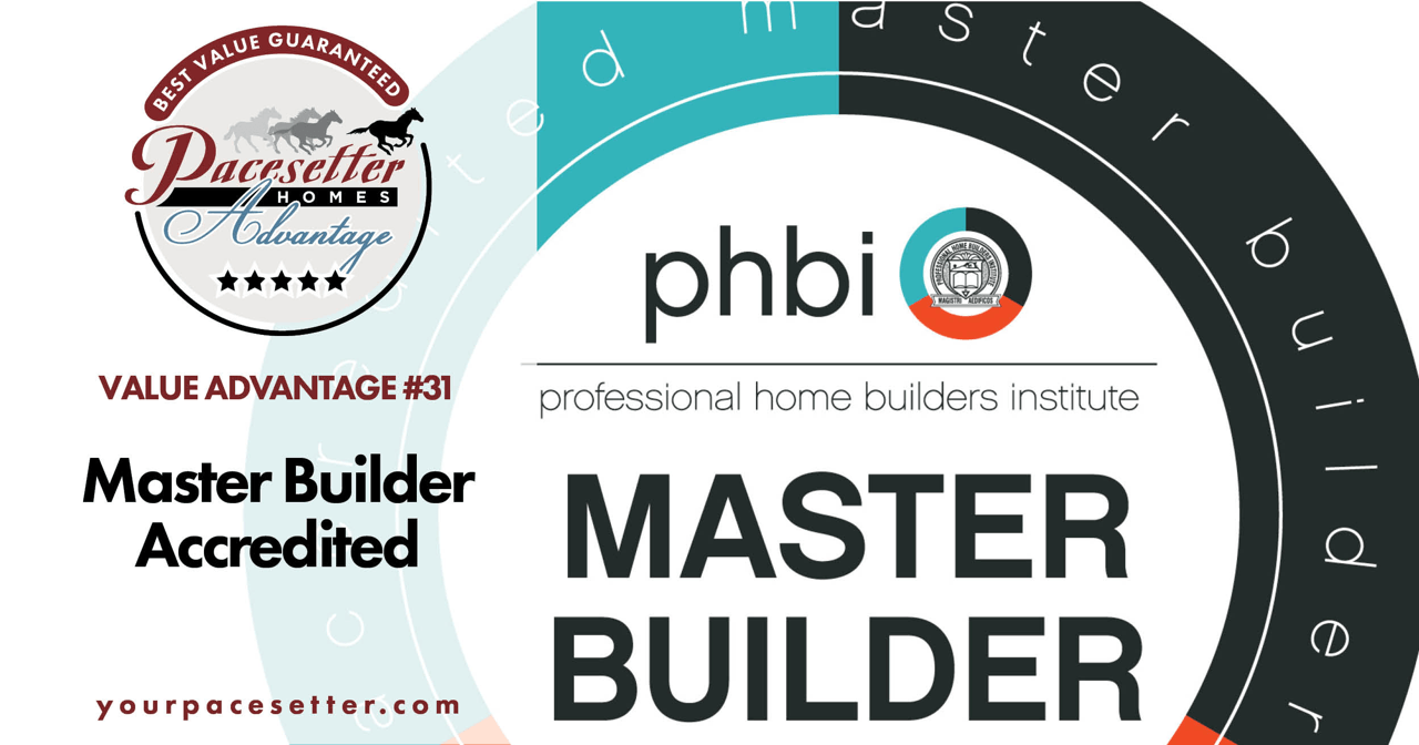 Pacesetter's Best Value Guaranteed Program Master Builder image