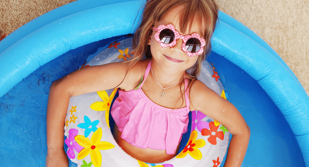 7 DIY Water Activities to Beat the Heat Girl in Pool image