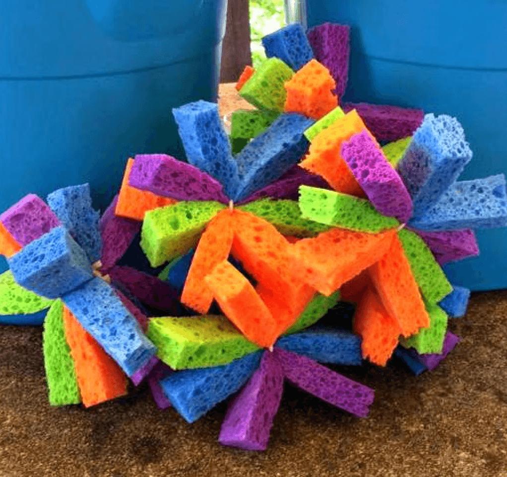 7 DIY Water Activities to Beat the Heat Sponge Bombs