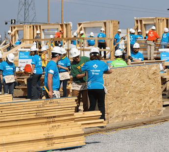 A Hammer and A Heart Habitat for Humanity Workers image