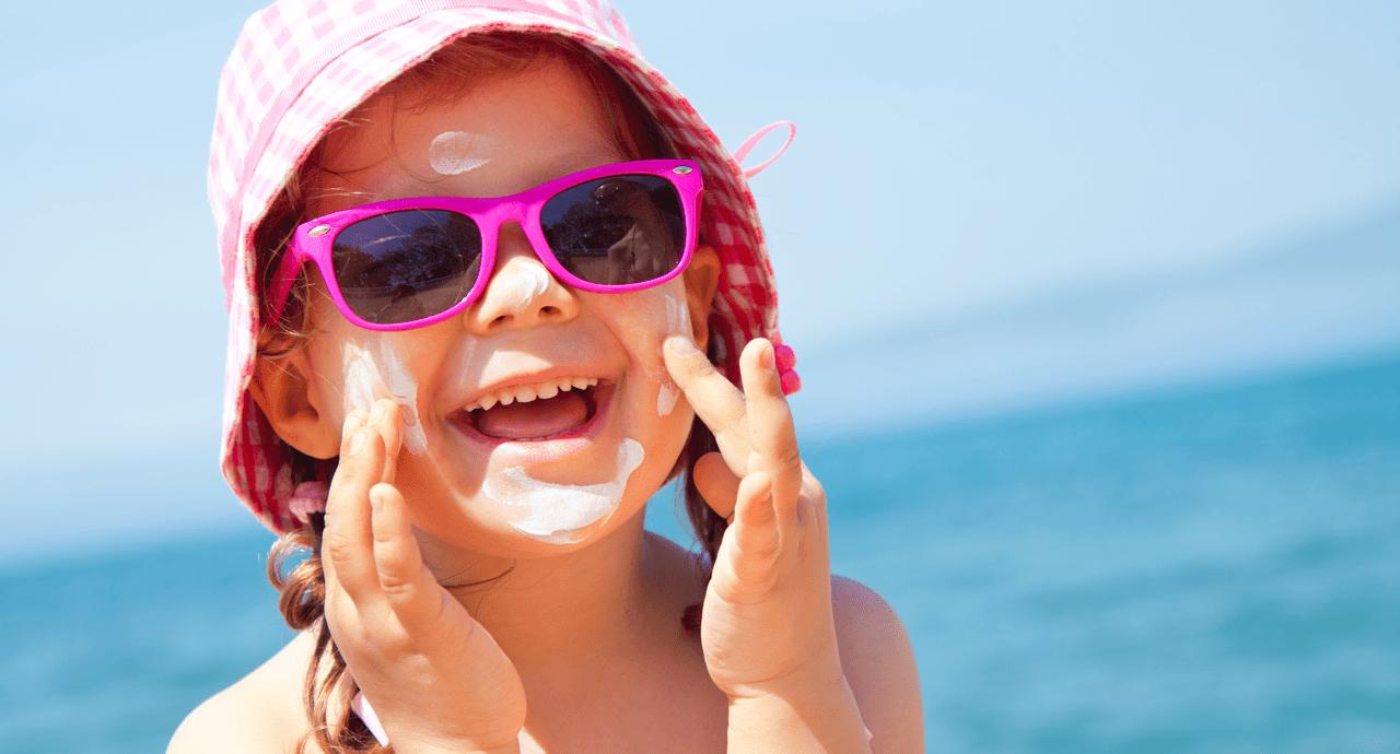 Summer Safety Tips for Kids Little Girl image