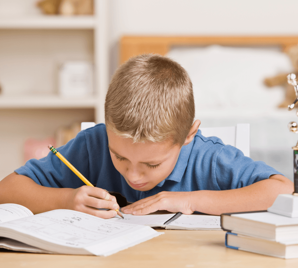 Getting Ready for Back to School Doing Homework image