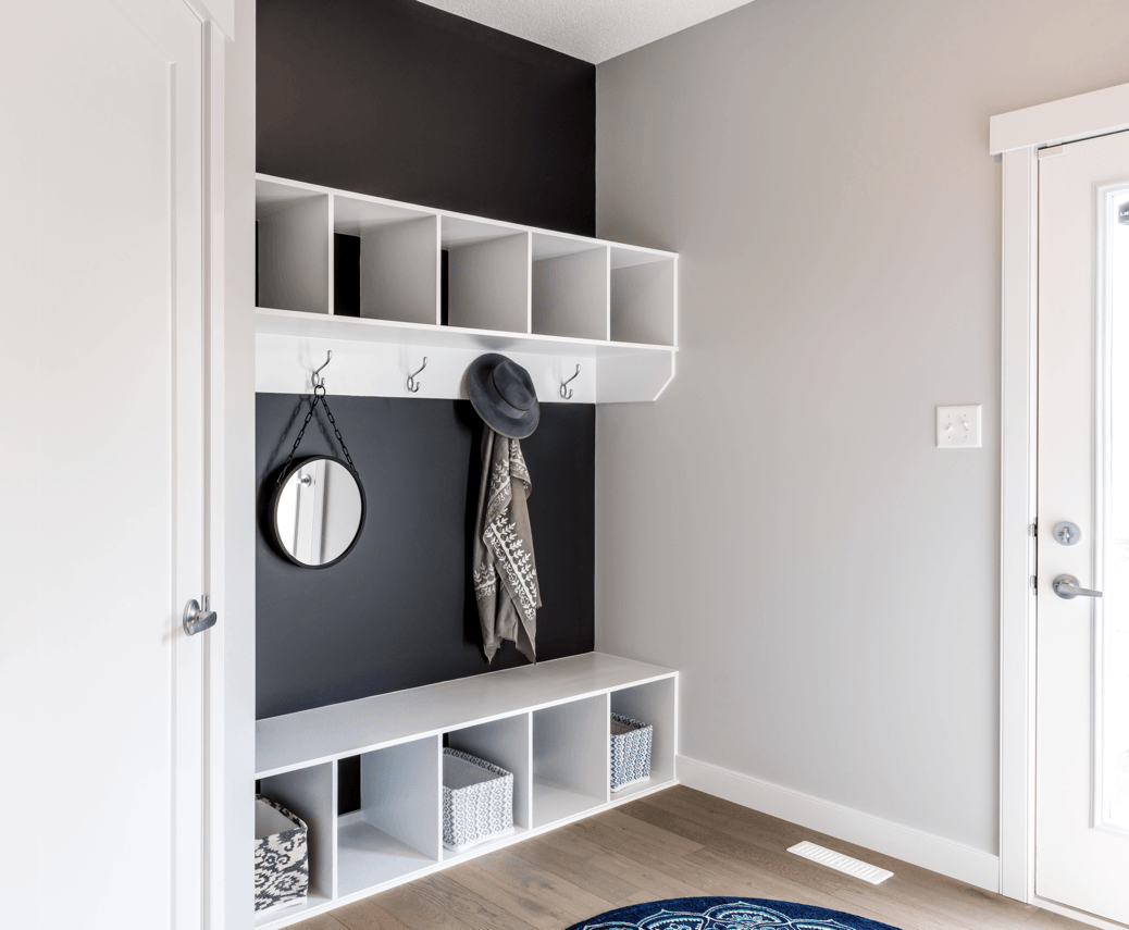 Getting Ready for Back to School Mudroom image