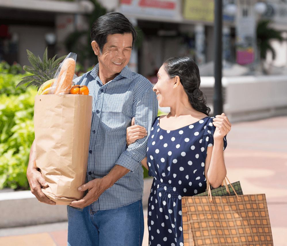 Pacesetter's Community Focus: Timberidge Couple Shopping image