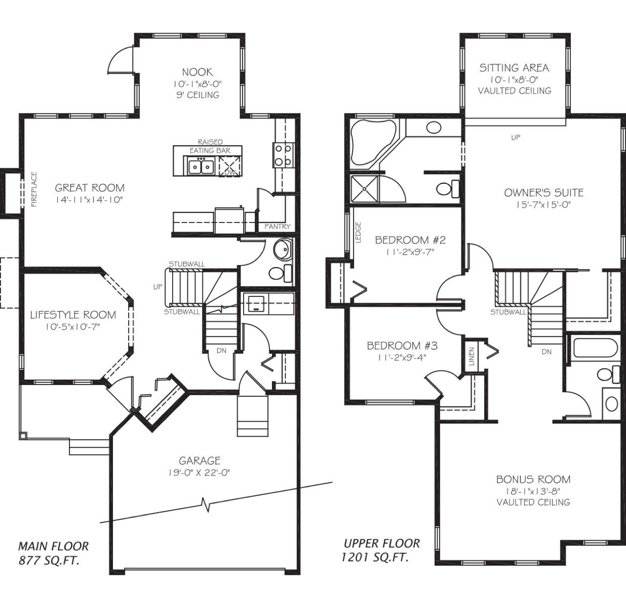 TBT: Old Pacesetter Floor Plans Cambridge Floor Plan image