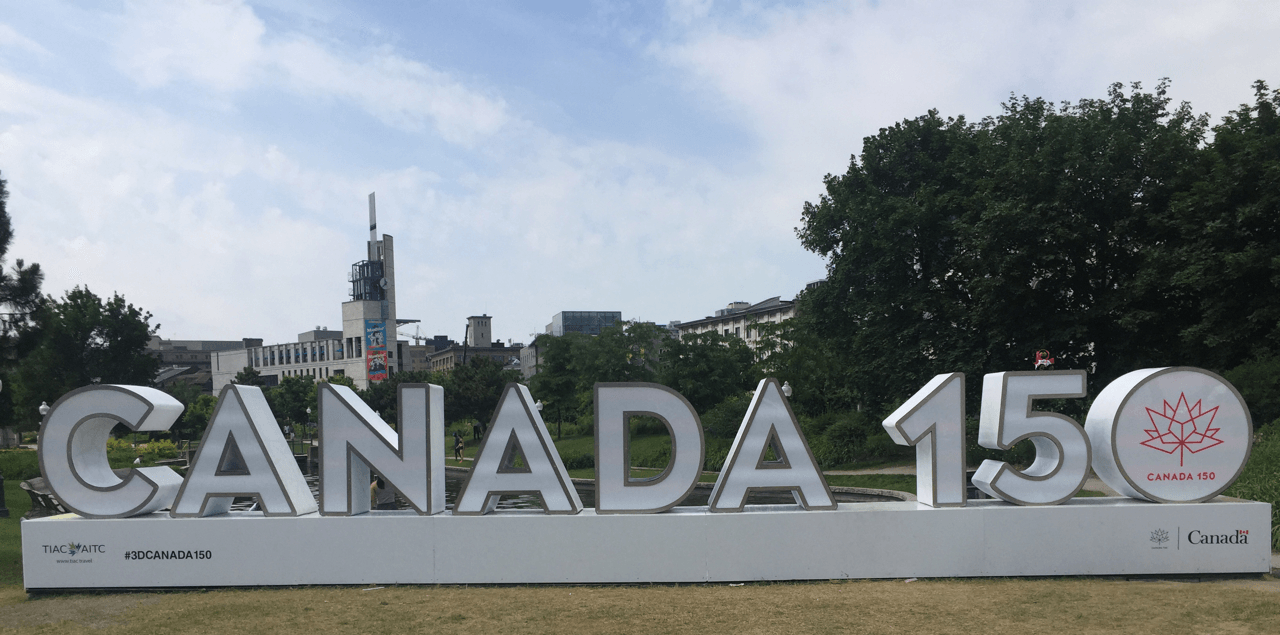 Bringing Canada Worldwide! Canada 150 image