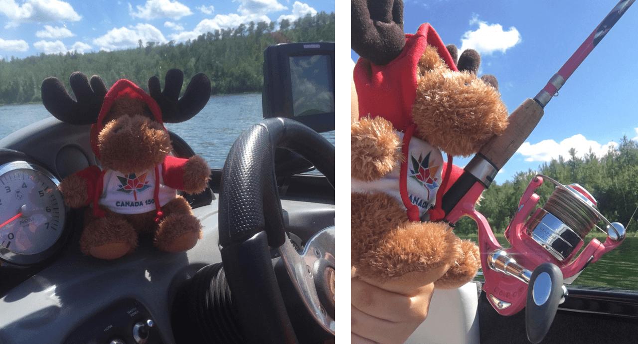 Bringing Canada Worldwide! Fishing image