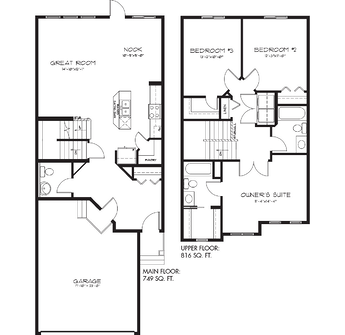 Model Feature The Belmont Floorplan Image