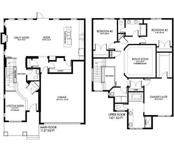 New Model Feature The Lexington Floorplan Image