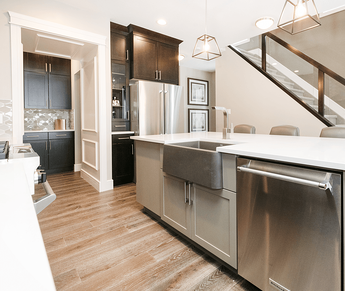 Advantages to Building a Home From Scratch Kitchen Image
