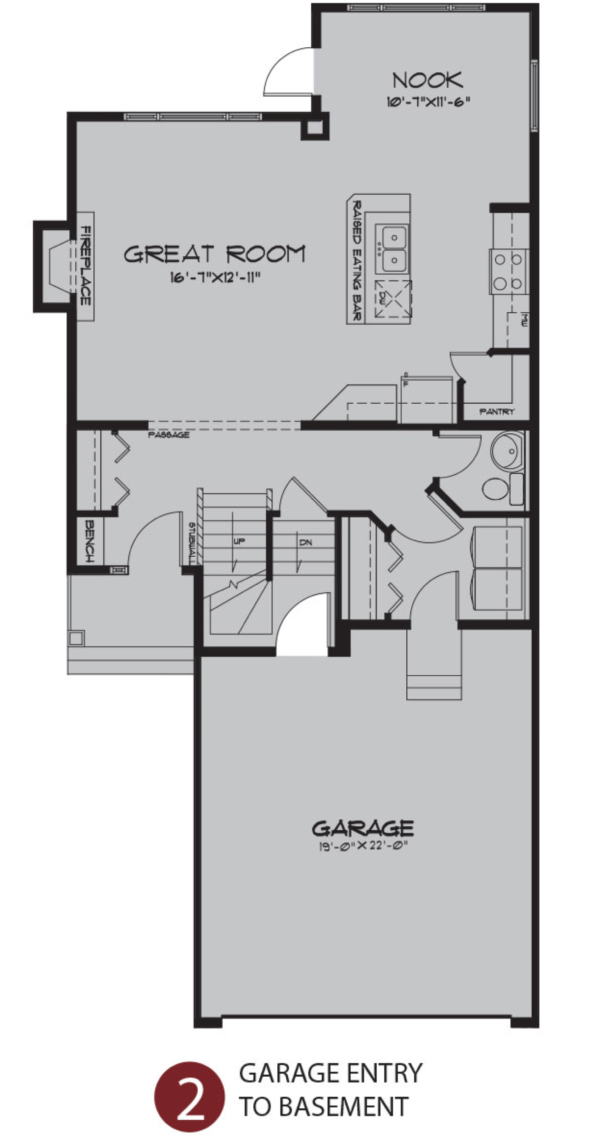 Ideal Home Models for Multi-Generational Families Garage Image