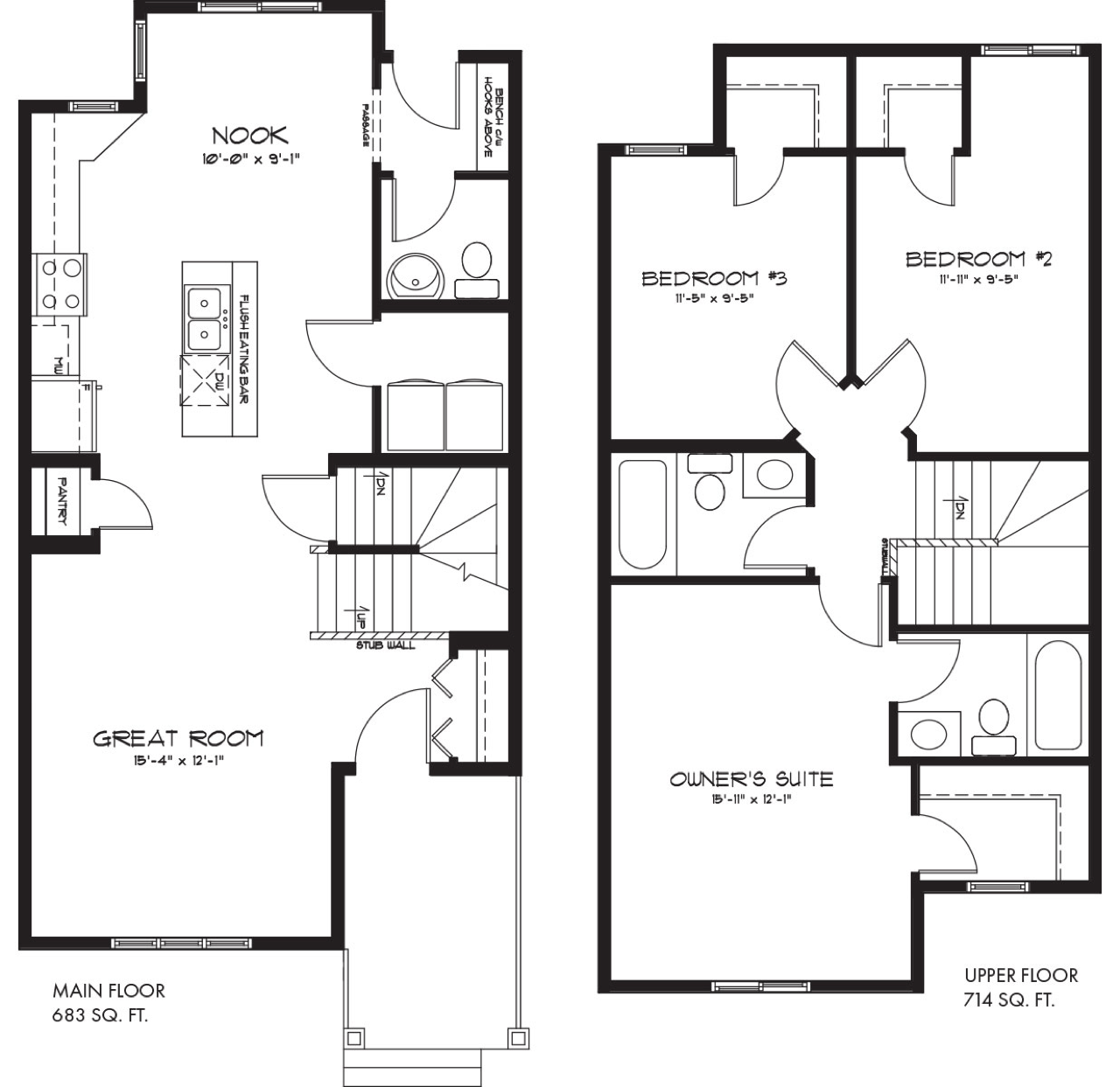 Latest Quick Possession Homes From Pacesetter Affirmed Floor Plan Image