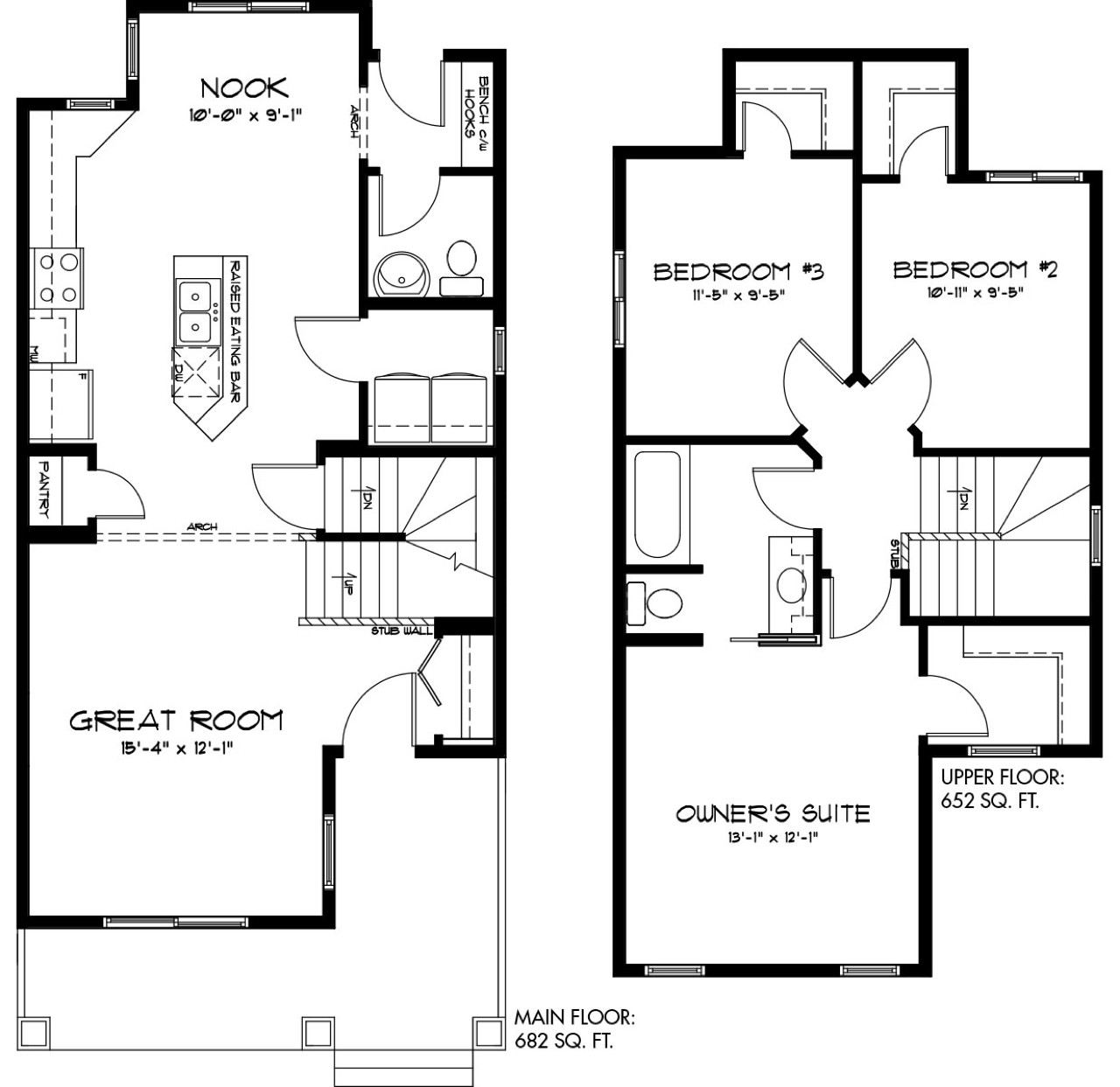 Latest Quick Possession Homes From Pacesetter Lexi B Floor Plan Image