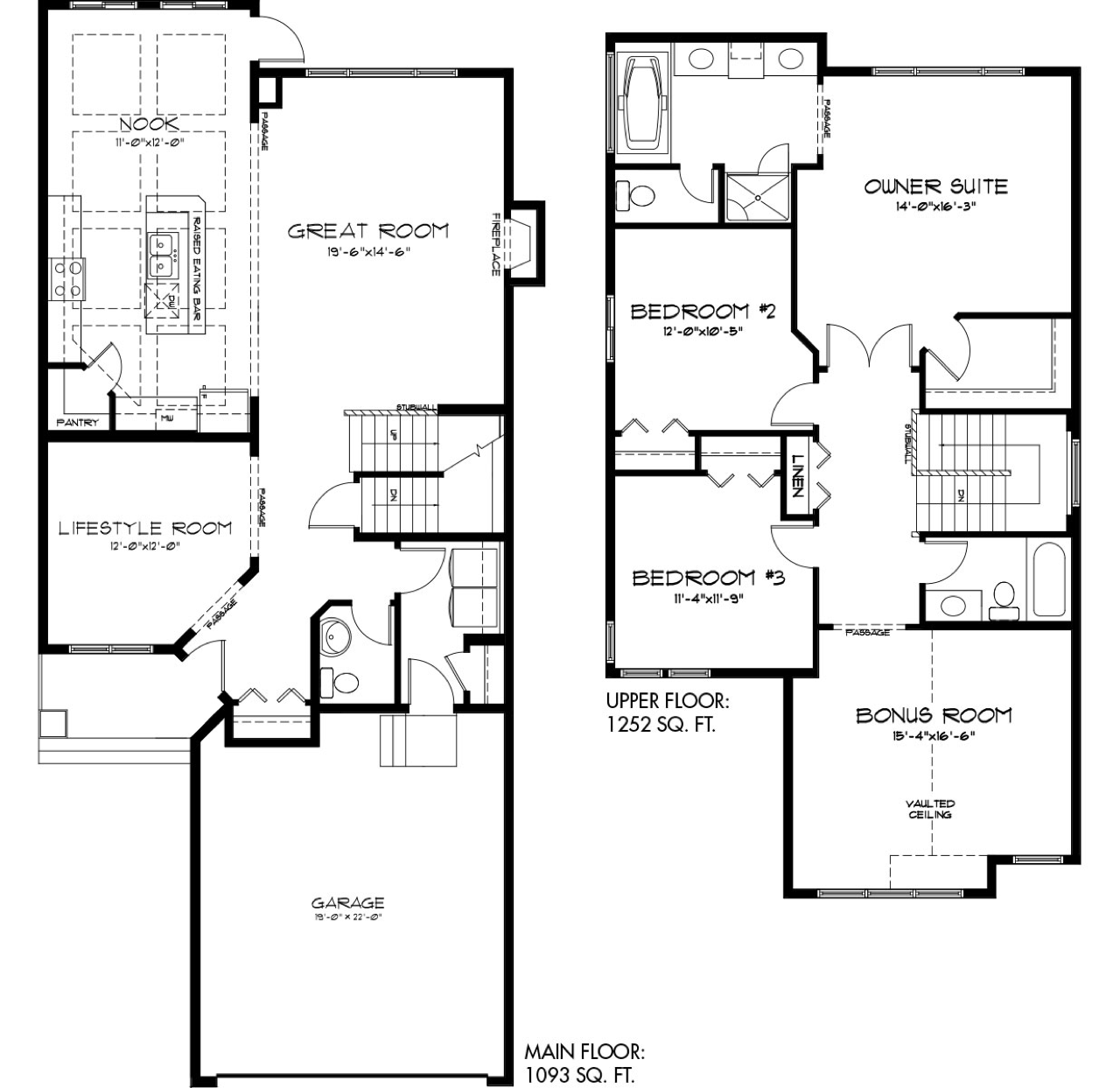 Latest Quick Possession Homes From Pacesetter Madison E Floor Plan Image
