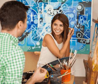 Unique Valentine's Day Dates in Edmonton Painting Featured Image