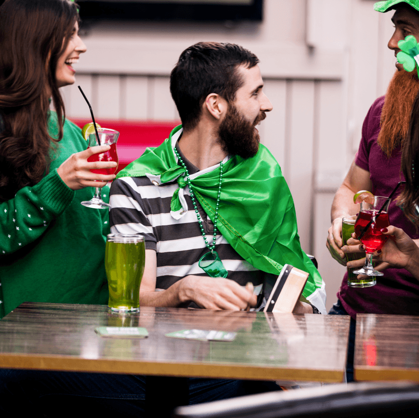 Places to Spend St. Patrick's Day in Edmonton Drinking Image