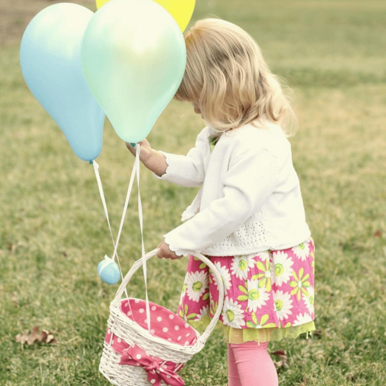 Unforgettable Easter Egg Hunt Ideas balloons Image