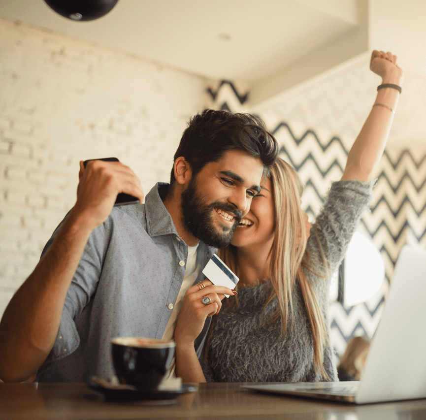 Habits That Improve Your Credit Score Couple Image