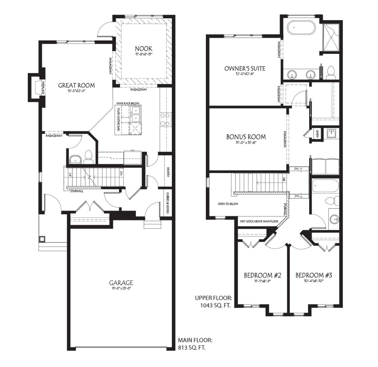 New Home Model Alert The Vienna Floorplan Image