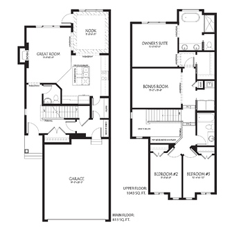 New Home Model Alert The Vienna Floorplan Image