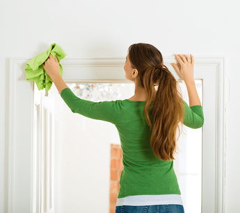 Time for Spring Cleaning Again Woman Image