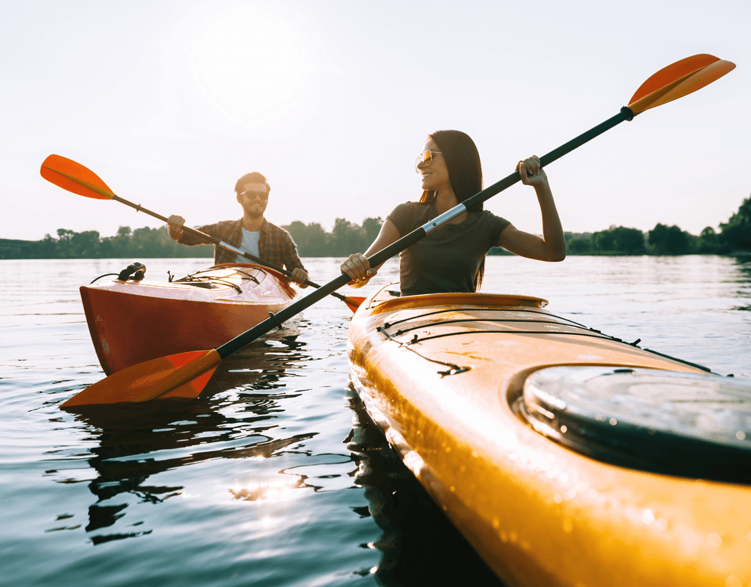 Community Focus: Jensen Lakes Kayak Image