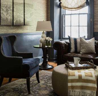 Ideas to Style Your Coffee Table or Ottoman Antique Image