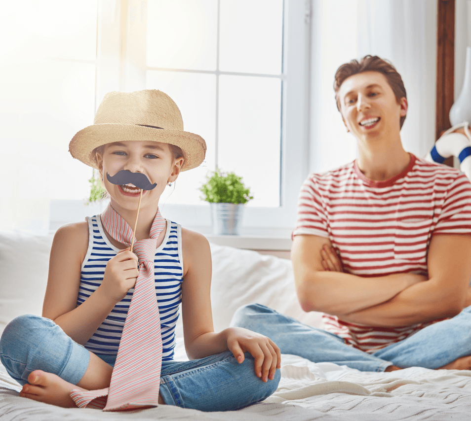 Jokes to Beat Dad at His Own Game This Father's Day Moustache Image