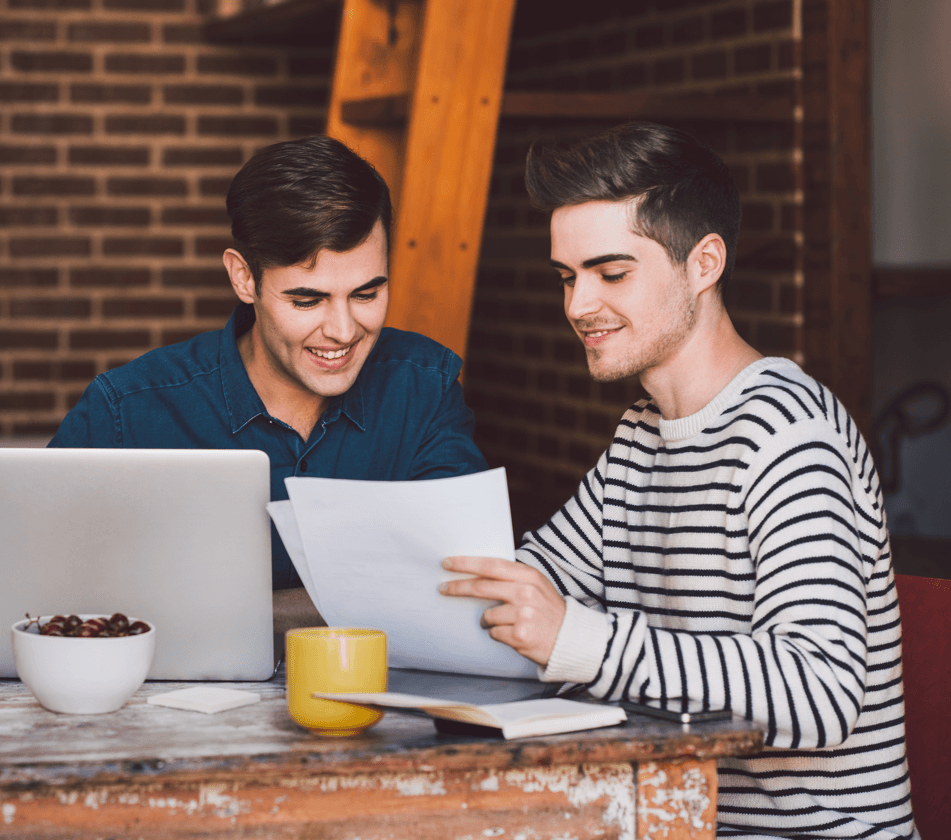 What You Need to Know About Co-Owning a Home Men Image