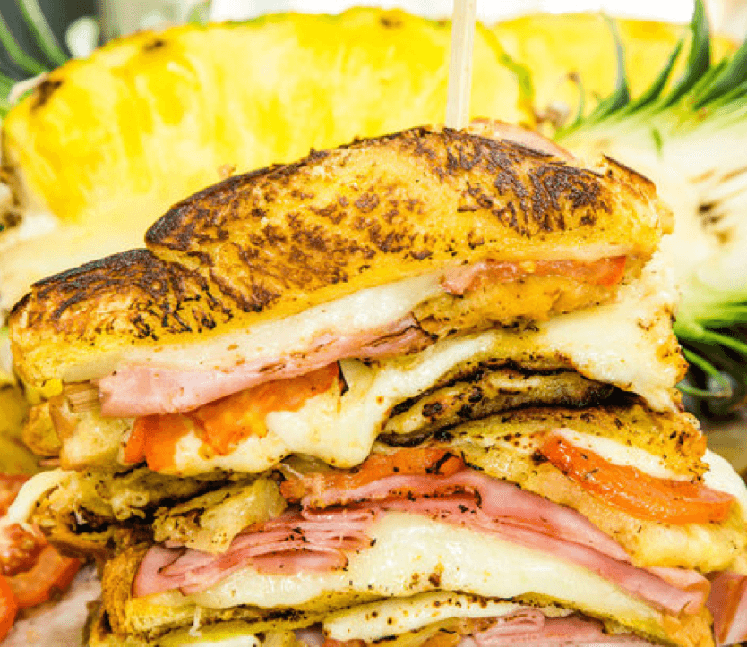 10 Recipes You Have to Try This Summer Hawaiian Grilled Cheese Image