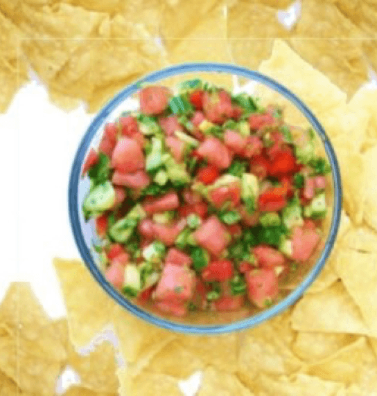 10 Recipes You Have to Try This Summer Watermelon Salsa Image