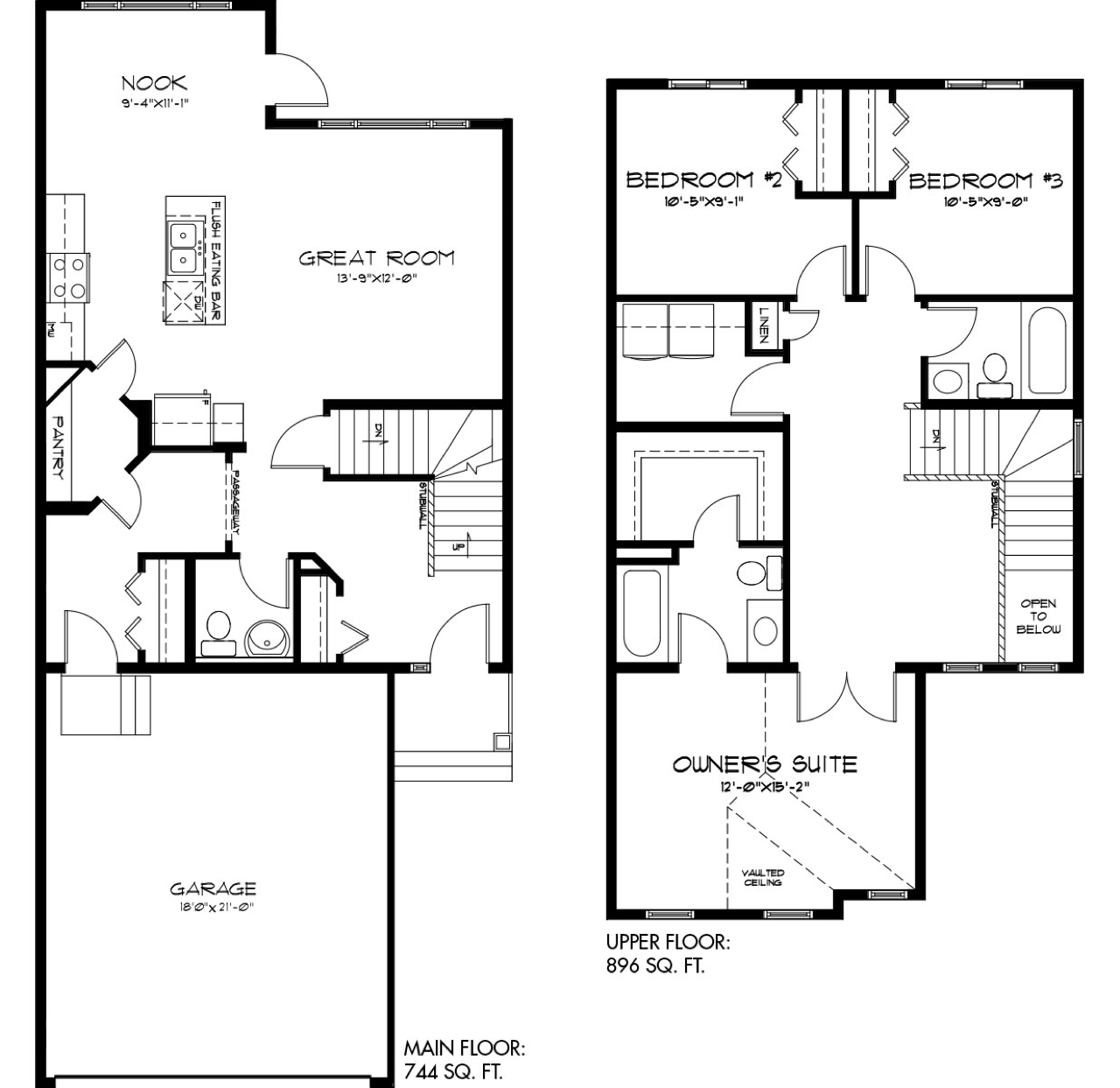 The Latest Quick Possession Homes From Pacesetter! Lusitano Floor Plan Image