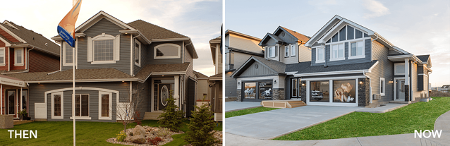 Throwback Thursday: Comparing Old and New Pacesetter Showhomes Featured Image