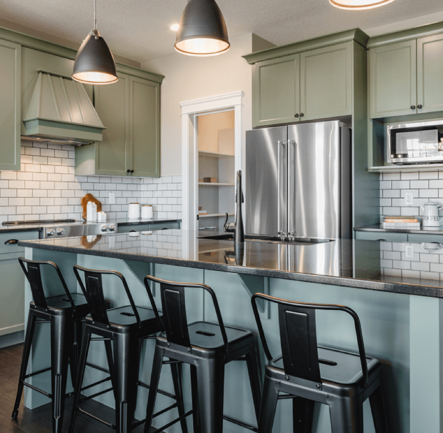 Pacesetter's Newest Showhomes Havana Kitchen Image