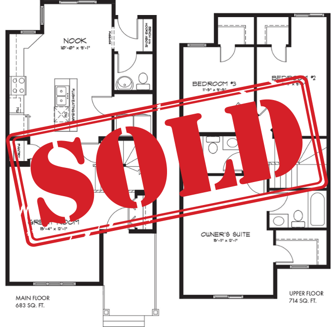 September 18th post - The Latest Quick Possession Homes From Pacesetter Affirmed Floorplan Sold Image