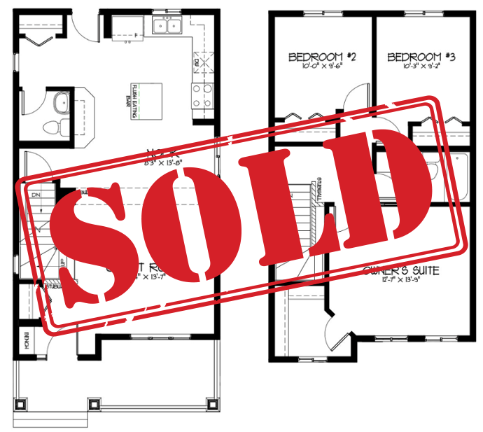 The Latest Quick Possession Homes From Pacesetter! Maverick Floor Plan Image
