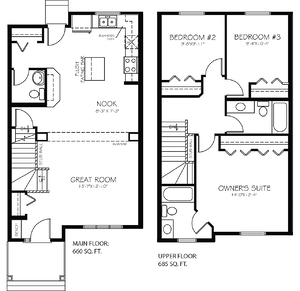 The Latest Quick Possession Homes From Pacesetter Alydar Floorplan Image