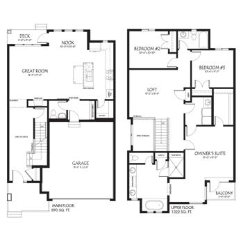 Model Feature: The Jasper Floor Plan Image