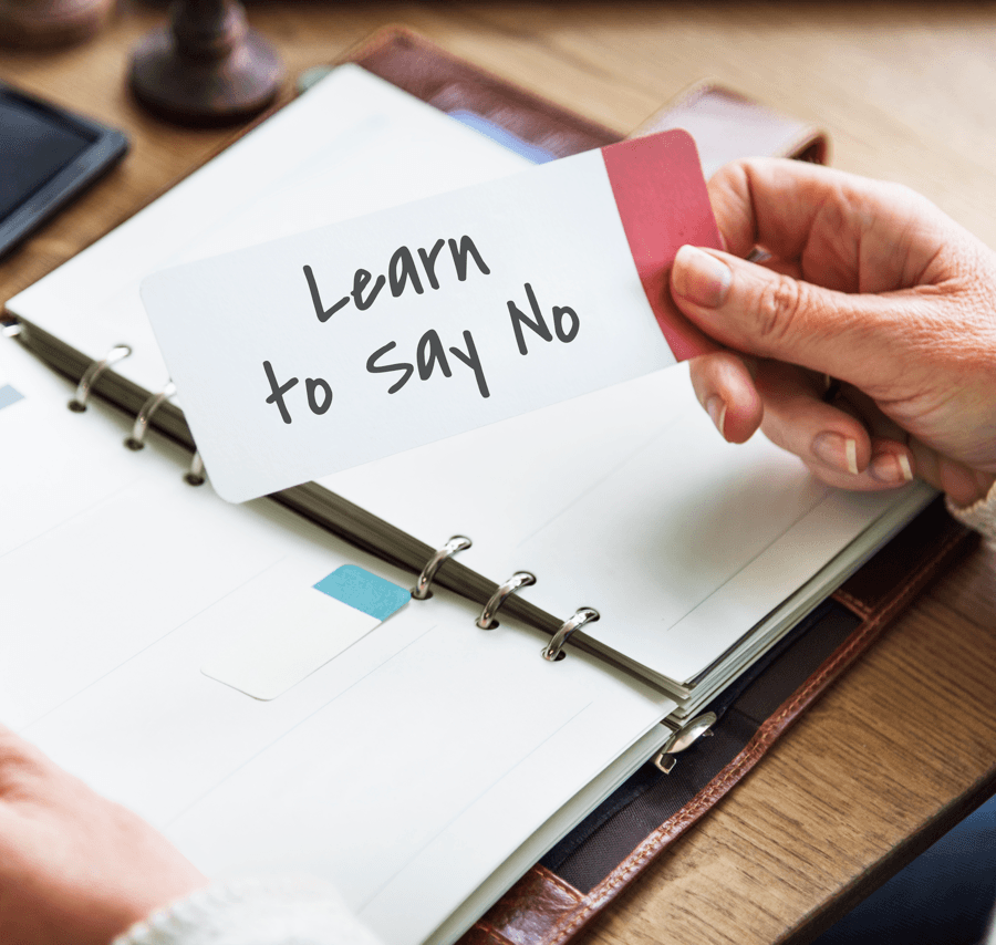 10 Everyday Habits to Help You Manage Your Time Say No Image